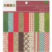 American Crafts – Christmas Noel – 6x6 papers – 97198